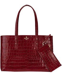 Regent Leather Tote Bag