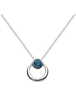Simmer Loop Pendant Necklace