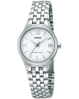 Rrs01ux9 Women's Stainless Steel Bracelet Strap Watch