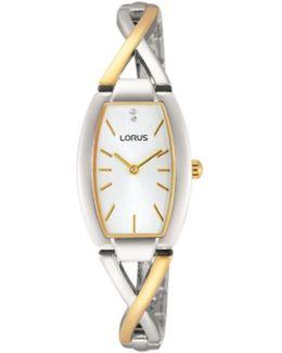 Rrw51ex9 Women's Two Tone Bracelet Strap Watch