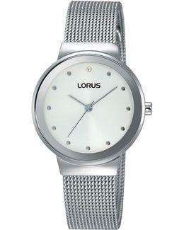 Women's Mesh Bracelet Strap Watch