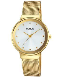Rg296jx9 Women's Mesh Bracelet Strap Watch