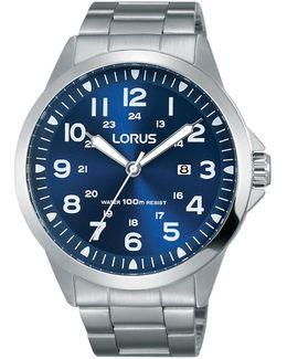 Rh925gx9 Men's Date Bracelet Strap Watch