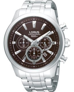 Rt359ax9 Men's Chronograph Date Bracelet Strap Watch