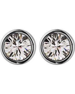 Dyrberg/kern Noble Medium Swarovski Crystal Stud Earrings