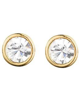 Dyrberg/kern Thelma Small Swarovski Crystal Stud Earrings
