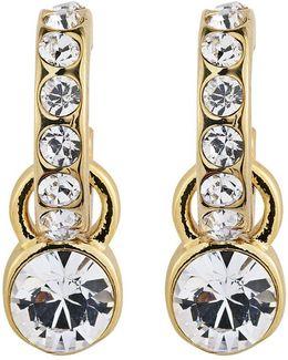 Dyrberg/kern Laurino Swarovski Crystal Earrings