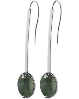 Dyrberg/kern Drop Cut Hook Earrings
