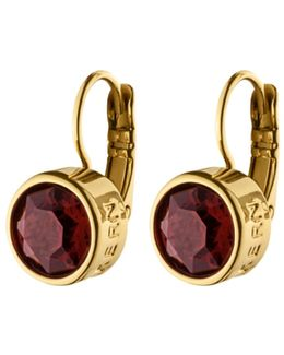 Dyrberg/kern Louise Swarovski Crystal French Hook Drop Earrings