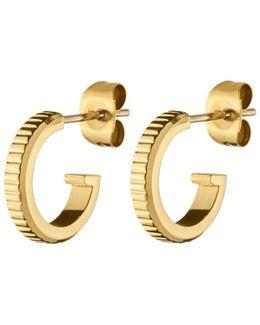 Dyrberg/kern Small Stud Hoop Earrings