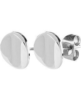 Dyrberg/kern Flat Disc Stud Earrings