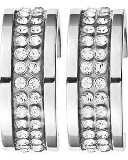 Dyrberg/kern Kimmie Swarovski Crystal Hoop Earrings