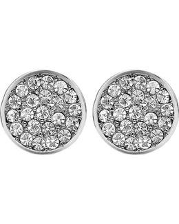 Dyrberg/kern Maira Crystal Stud Earrings