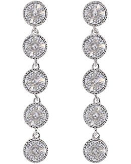 Rizza Drop Crystal Earrings