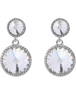 Ronda Crystal Drop Earrings