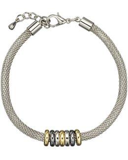 Mini Circles Mesh Bracelet