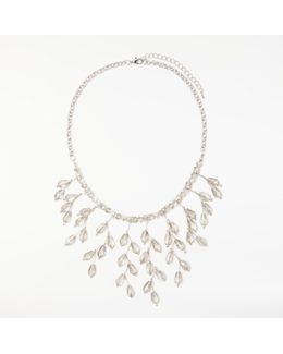 Crystal Statement Drop Necklace