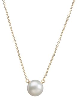 14ct Gold Plated Freshwater Pearl Pendant Neckalce
