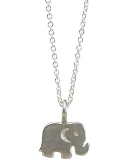 Sterling Silver Good Luck Elephant Reminder Necklace