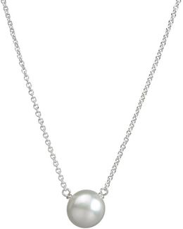 Mum Large Pearl Pendant Necklace