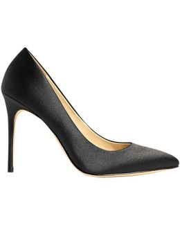 Satin Stiletto Heeled Court Shoes