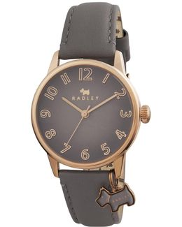 Women's Blair Leather Strap Charm Watch