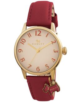 Ry2250 Women's Leather Strap Charm Watch