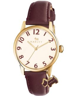 Women's Liverpool Street Leather Strap Watch