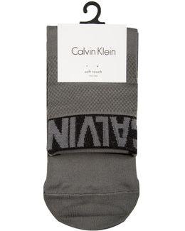 Modern Logo Ankle Socks