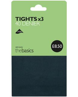 40 Denier Opaque Tights