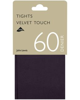 60 Denier Velvet Touch Opaque Tights