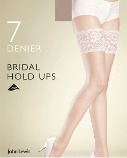 7 Denier Bridal Hold Ups
