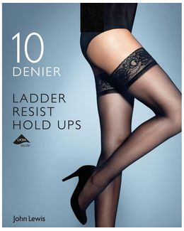 10 Denier Ladder Resist Hold Ups
