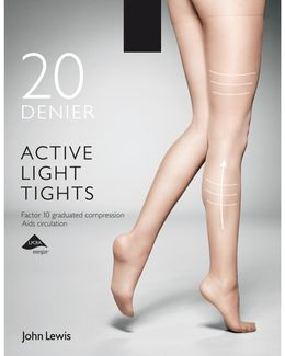 20 Denier Firm Support Active Light Sheer Tights