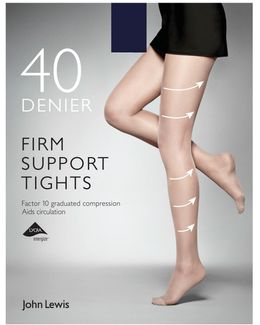 40 Denier Firm Support Tights
