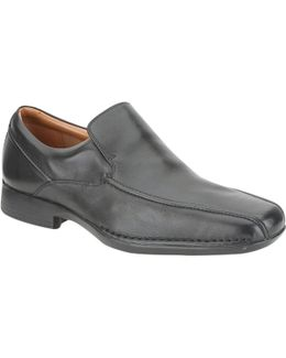 Francis Flight Leather Slip-on Shoes