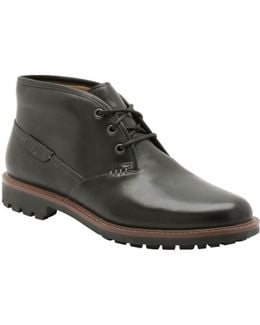 Montacute Duke Leather Chukka Boots