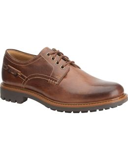 Montacute Hall Leather Derby Shoes