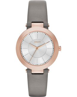 Ny2296 Women's Stanhope 2.0 Leather Strap Watch