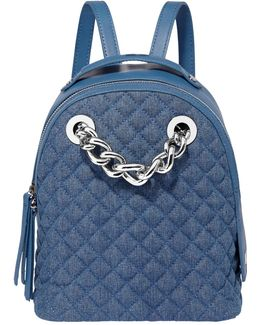 Anouk Quilted Small Chain Backpack