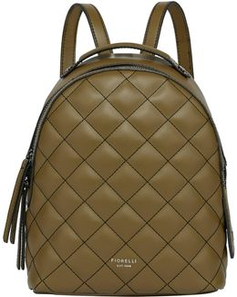 Anouk Small Quilted Backpack