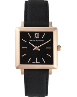 Women's Norse Leather Strap Watch