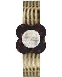 Ok4030 Poppy Mesh Bracelet Strap Watch