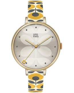 Women's Ivy Leather Strap Watch