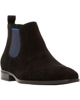 Maritime Suede Colour Pop Slip-on Chelsea Boots