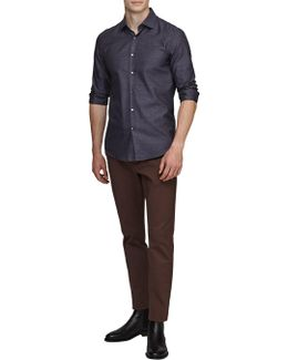 Straith Textured Slim Fit Shirt