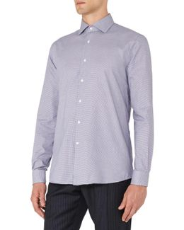 Reacher Micro Houndstooth Regular Fit Shirt