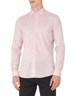 Stefan Melange Weave Slim Fit Shirt
