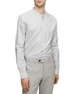 Mcrae Slim Grandad Collar Shirt