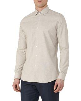 Baresi Textured Cotton Shirt